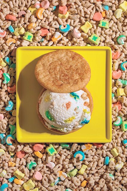 9 Insane Ice Cream Flavors To Try Now  #refinery29  http://www.refinery29.com/best-la-ice-cream#slide7  Whiskey Lucky Charms, Coolhaus In theory, it seems strange to mix a strong spirit with a kiddie cereal. In reality, it's heaven on earth. Coolhaus, 8588 West Washington Boulevard (At Cattaraugus Avenue); 310-424-5559.