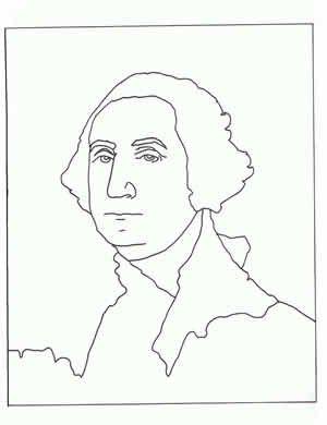 Stuart George Washington Famous Art Coloring Coloring Pages Homeschool Art