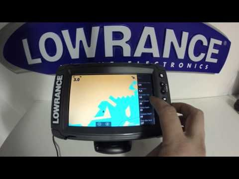 Lowrance Elite 7 Ti Pt 4 Gps Setup Youtube