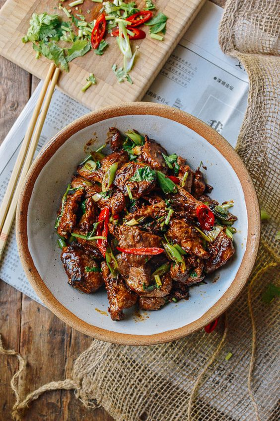 This cumin lamb recipe is our take on a classic dish from Xinjiang, China. It's not hard to make an authentic plate of cumin lamb in your home kitchen!