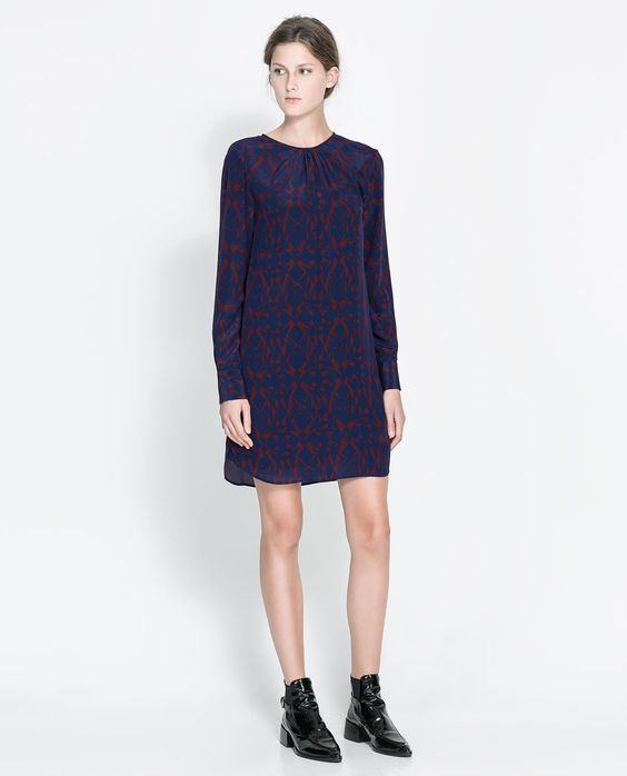 ZARA - WOMAN - PRINTED DRESS