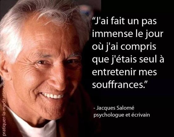 #citation de Jacques Salomé