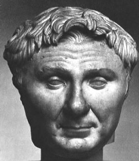 Pompey the Great 106-48 BC  Early Roman Empire. How could you not love such an adorable face?! Not only that but he was an amazing tactician as well as being part of the 1st Triumvate