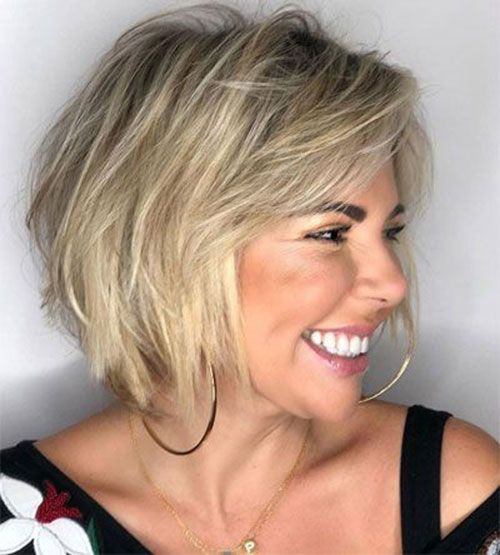Blonde Bob 1 Thin Fine Hair Thin Straight Hair Hairstyles For Thin Hair