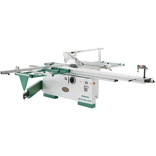 12 7 1 2 Hp 3 Phase Sliding Table Saw With Scoring Blade Motor Sliding Table Saw Diy Table Saw Table Saw
