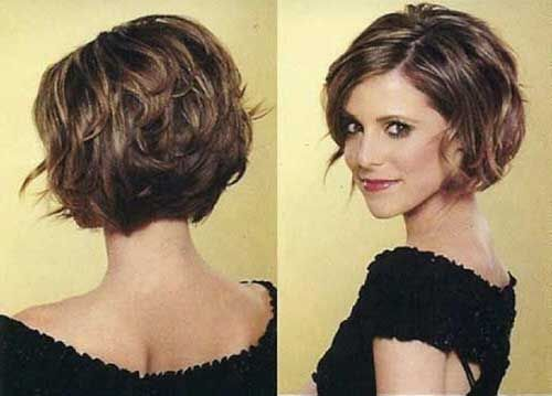 15 Short Hairstyles Thick Hair