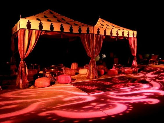 Lighting floors and photos on pinterest for Arabian tent decoration