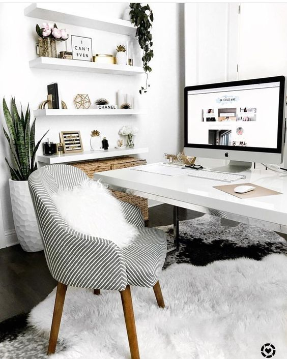 Home Office Designs for Small Spaces | Daily source for inspiration and fresh ideas on Architecture, Art and Design #smallofficedesign #officedesigninspiration