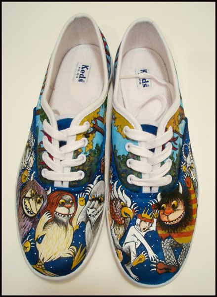 """Where The Wild Things Are"" Keds."