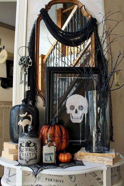 15 Stunning Halloween Decorations Indoor Ideas Decoration Halloween Decoration Decoration Chic