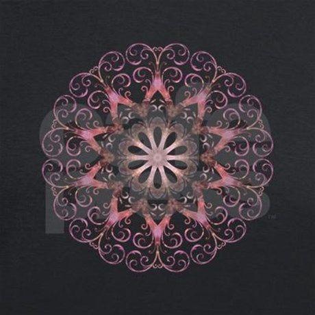 Ametrine Crystal Mandala Men's V-Neck T-Shirt
