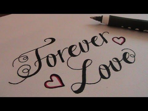 Cursive fancy letters how to write cursive fancy letters Calligraphy youtube
