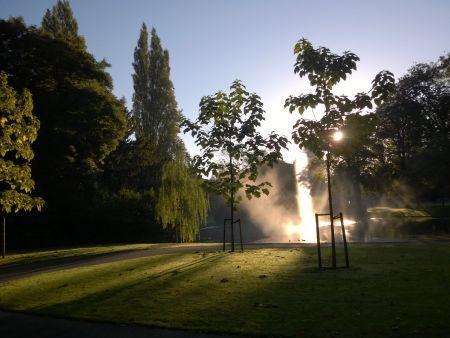 Betoverend mooi Valkenberg in de ochtendzon