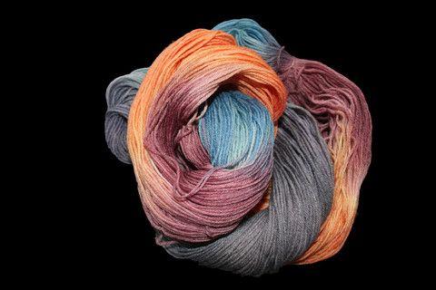 Coastal Sunset - Sock Yarn 75% Wool and 25% Nylon - REGULAR PRICE $27. – Nickelbee Art Studio and Supplies