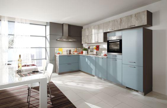 Prachtige moderne keuken van Bauformat.