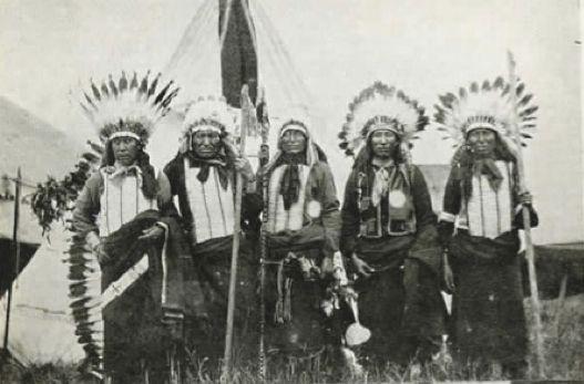 Five Chiefs Du Bois, PA, 1908 - Flying Hawk - Wikipedia, the free encyclopedia