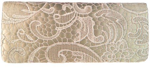 Girly HandBags Women's Floral Lace Clutch Bag for only $27.98 You save: $10.00 (26%)