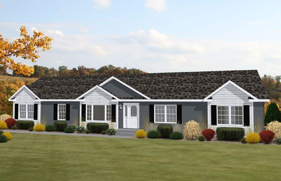 Ranch House Exterior Colors Modular Ranch Homes In Raleigh Nc Home Sweet Home Pinterest