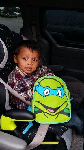 My ninja turtle!
