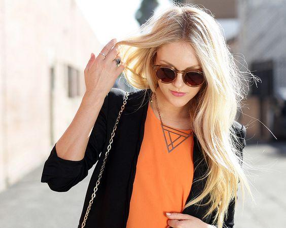// Bright #Orange + #Black //