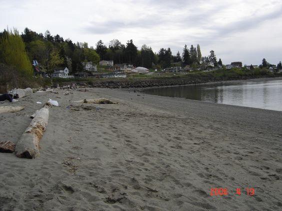 Sunnyside beach Stelicoom Wa