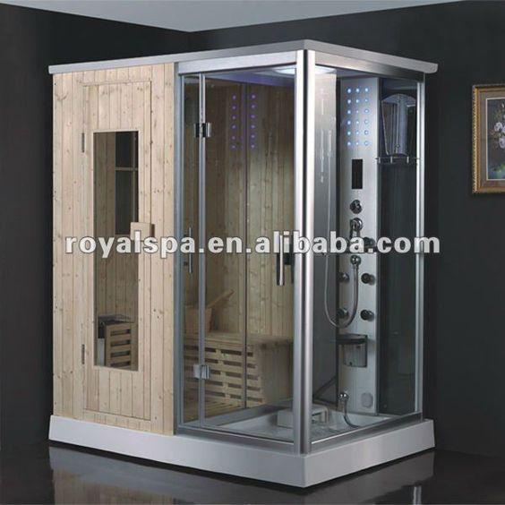 Luxurious Steam Sauna Shower Combination 1600 1900 Sauna Shower Steam Sauna Sauna Room