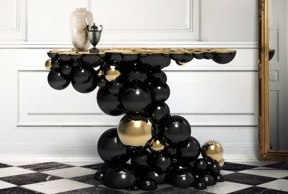 NEWTON CONSOLE TABLE | Is a standout piece of international desire that distinguishes itself from all the other designs | http://modernconsoletables.net