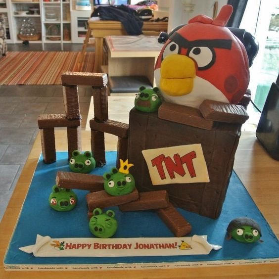 - Angry Birds Cake