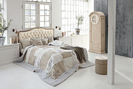 Romantisches Schlafzimmer im französischem Stil #loberon