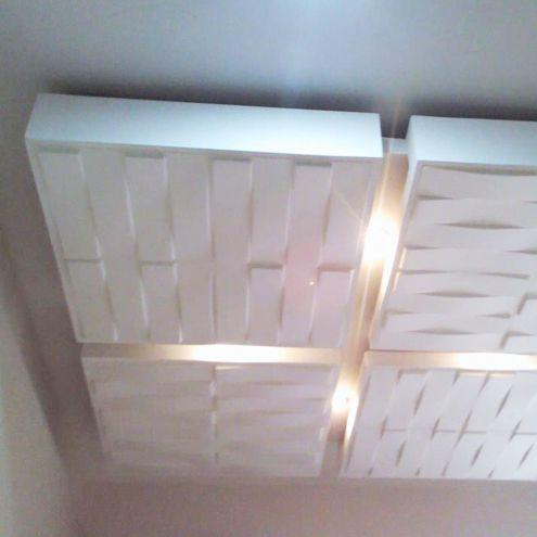 WallArt Decorative Interior 3D Wall Panels Textured