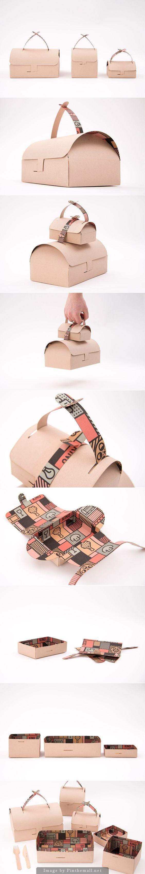 KINO Takeaway designed by Gustav Karlsson. I like it #packaging PD