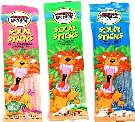 1.75 oz Sour Sticks - 3-Pack $3.99