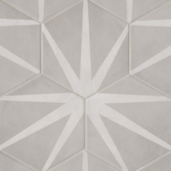 Allora 8 5 X 10 Decorative Tile In Stella Wall Patterns Contemporary Tile Tile Floor