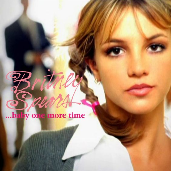 Britney Spears – Baby One More Time (single cover art)
