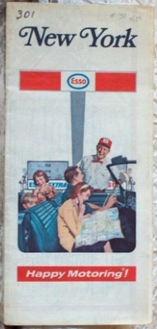 http://ajunkeeshoppe.blogspot.com/  ROAD MAP 1971 72 Esso Highways Through New York State