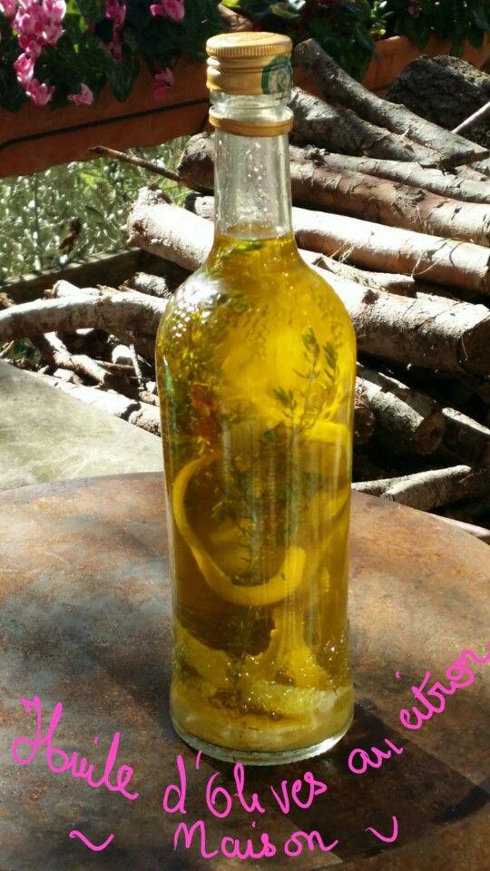 Huile d olive aromatisé