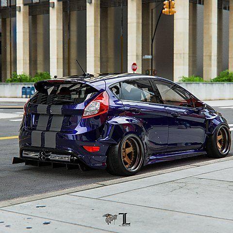 Ford Fiesta Mk7 5dr Wide Body Kit Krotov Pro In 2020 Ford Fiesta Wide Body Kits Ford Fiesta Modified