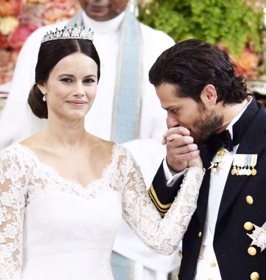 The Royal Wedding of Prince Carl Philip of Sweden and Sofia Hellqvist.