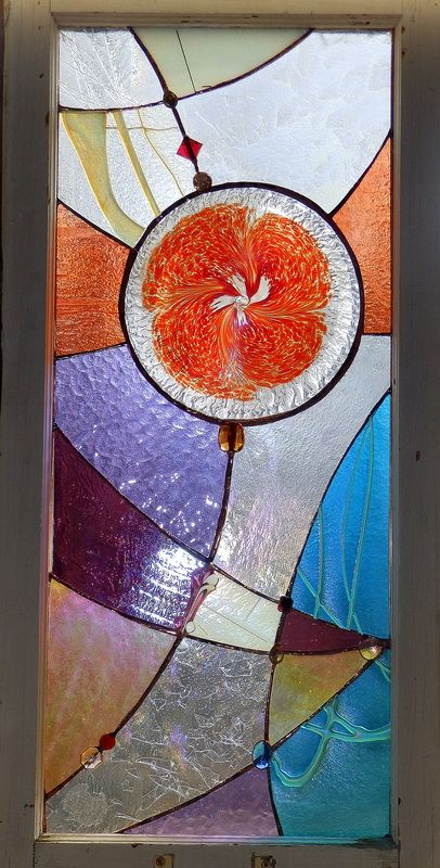 """""""GRAPEFRUIT"""" Stained Glass"""