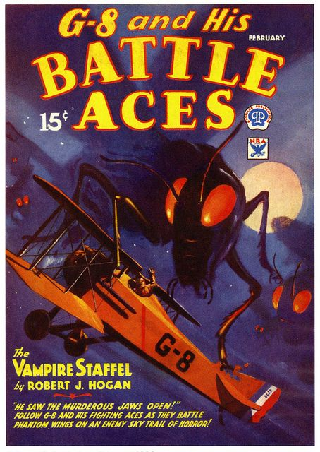 The Vampire Staffel 1934; cover by Frederick Blakeslee.: