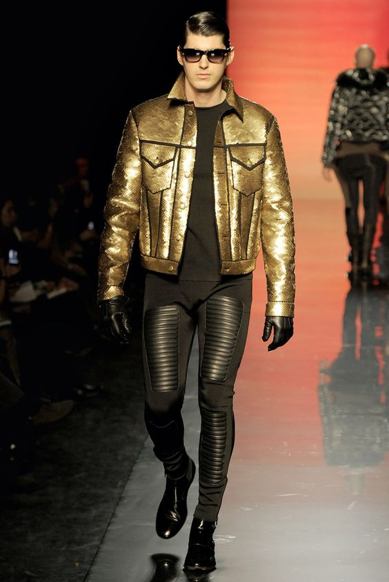 Jean Paul Gaultier Fall 2011 Menswear Collection Slideshow on Style.com