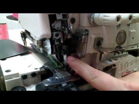 Ajuste De Las Cuchillas De La Overlock Paso A Paso Mecanica Confec Reparación De Máquina De Coser Maquina De Coser Reparación
