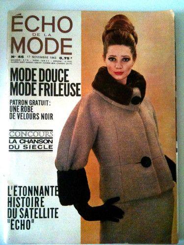 L'echo de la mode n° 46 du 17/11/1963