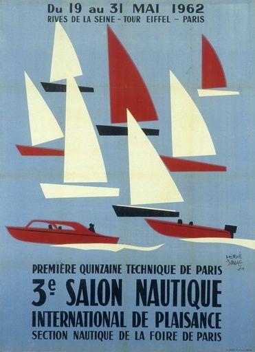 3ème Salon nautique international de plaisance - Section nautique de la Foire de Paris - 1962 - (Hervé Baille) -