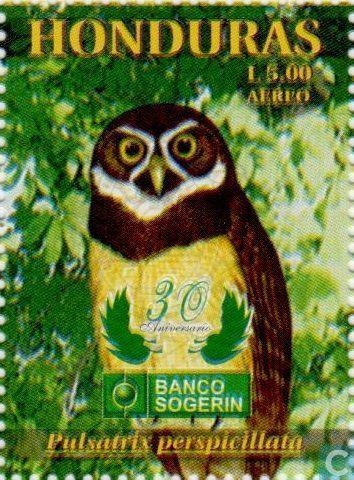 Postage Stamps - Honduras - Birds
