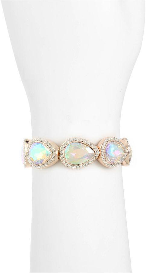 Monet Jewelry Monet Jewelry Womens Purple Stretch Bracelet JuCVkQ