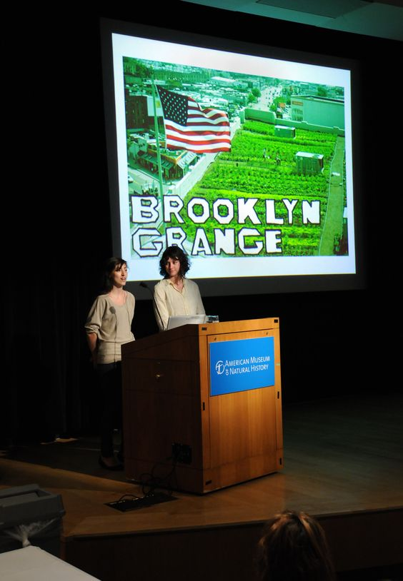 Rooftop Farming with Brooklyn Grange at Adventures in the Global Kitchen    (c) AMNH/C. Chesek
