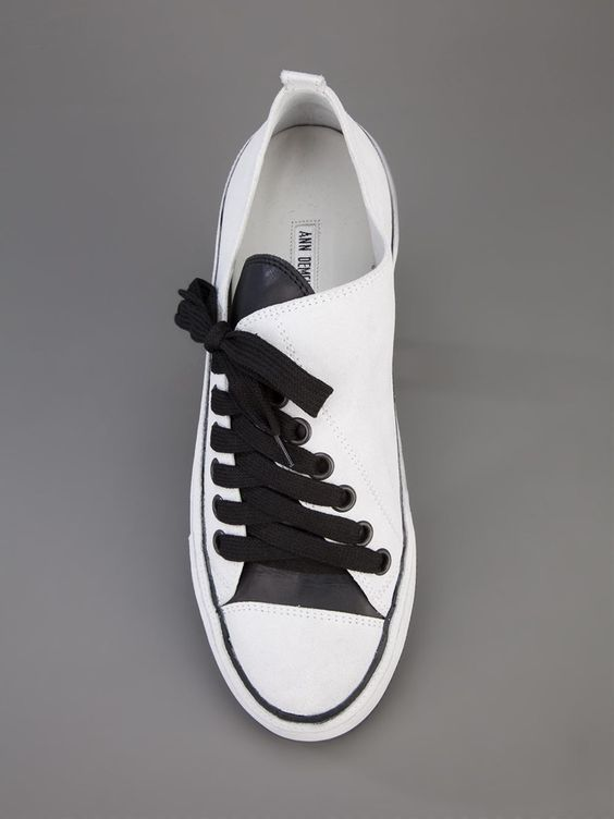 Ann Demeulemeester Blanche Asymmetric Sneaker