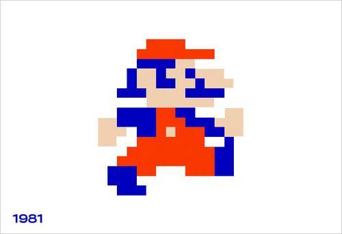 """""""kekness:  De evolutie van onze superheld Mario. Van 8-bit tot fully fledged 3D. De 1985 editie is veruit favoriet natuurlijk…   """""""