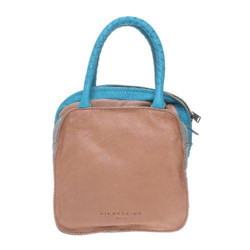 Liebeskind Berlin Lale vintage, Damen Handtasche, cappucciono multicolor - http://goo.gl/3gqqg0